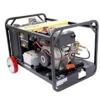供应全国汽油驱动工业级热水高压清洗机