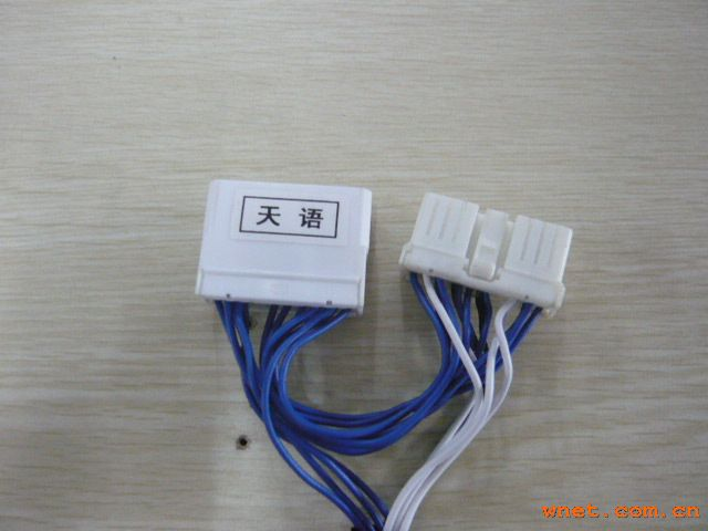 区石井镇 生产汽车电子线束,HID伸缩灯线,工控家电线束,电脑高清图片